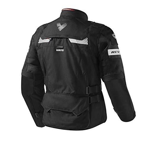 Revit - Giacca da moto Defender Pro GTX Gore-TEX®, colore grigio/rosso, taglia XYL