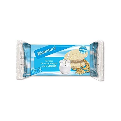 Bicentury - Tortitas de Arroz Integral - 4x2 130g - Chocolate con Leche