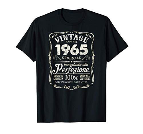 Vintage Nato Nel 1965 Tutto Originale 56 ° Compleanno Maglietta