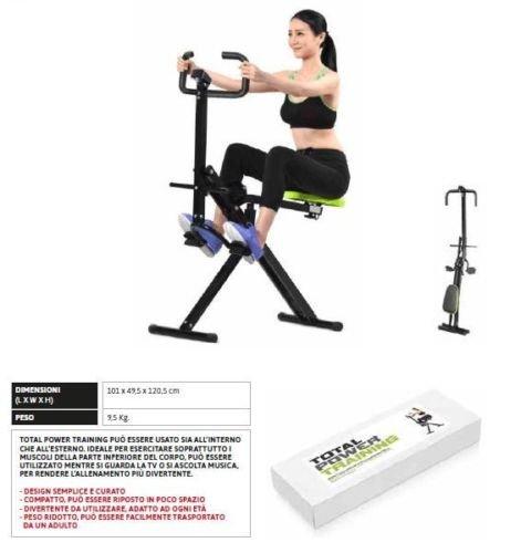Hobbyesport Attrezzo Fitness per Addominali Alti e Bassi Come Total Crunch Prezzo Offerta spedizione...