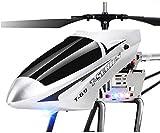 Moerc Super Grand Hélicoptère Flying Hélicoptère Gyro intégré Jouets d'enfants RC Airfer Radio Télécommande Airplane3.5 Channel Télécommande Hélicoptères pour Plus de stabilité Toy/Jeu/Enfant/en