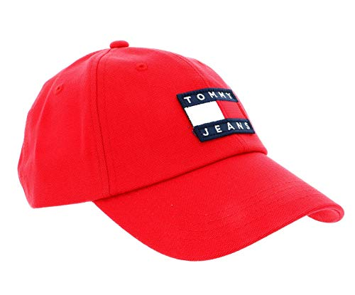 TOMMY HILFIGER TJW Heritage Cap Racing Red