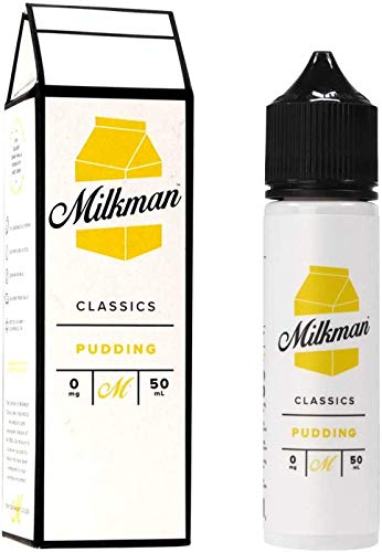 Pudding (50ml) Plus e Liquid by The Milkman Nikotinfrei