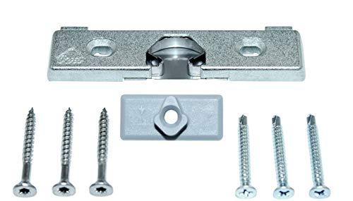 Roto Türschnäpper Balkontürschnäpper B3 Roto NT 435 143 incl. Auflaufstück & SN Montagematerial