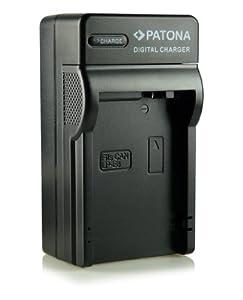 Patona® LP-E8 - Cargador 3 en 1 para Canon EOS 550D, 600D, 650D, 700D, Rebel T2i, Rebel T3i, Rebel T4i, Rebel T5i, etc.