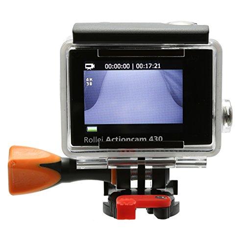 Rollei Actioncam 430 – Leistungsstarker WiFi Camcorder mit 4K, 2K, Full HD – Schwarz - 11