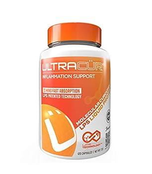 Ultracur - Curcumin Turmeric - Fast Acting Highly Bioavailable Curcumin -120 Vegetarian Capsules