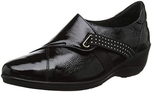 24 HORAS 23748, Zapatillas sin Cordones Mujer, Negro (Negro 7), 36 EU
