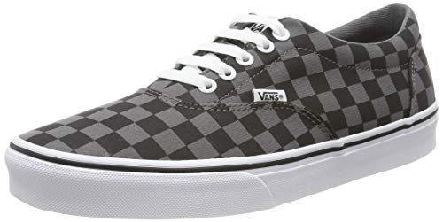 Vans Doheny, Zapatillas para Hombre, Multicolor ((Checkerboard) Black/Pewter Eo0), 43 EU