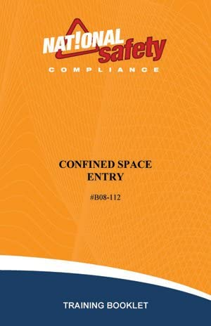 Superlatite Confined Space Entry 5 ☆ very popular Training of pkg Booklets 10