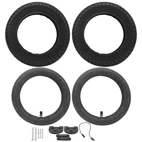 SALUTUYA Cubierta de Scooter Neumático de 10 Pulgadas Reemplazo de neumático de Scooter Absorción de Impactos de Mayor Calidad, para Scooters de 10 Pulgadas