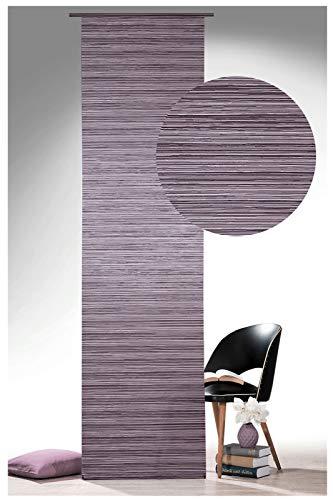 heimtexland® - Estructura de cortina de riel fija con apresto, incluye accesorio de cortina de panel, 60 x 245 cm, tipo 593
