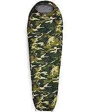 Lumaland - Mummieslaapzak - outdoor slaapzak - 230 x 80 cm - incl. tas, verpakt 50 x 25 cm - Verschillende kleuren