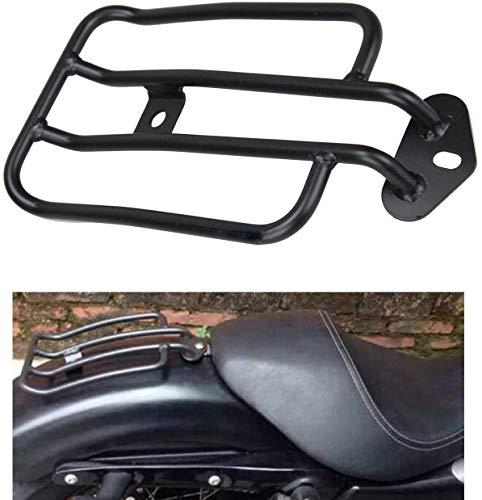 Ambience Motorrad Heckkotflügelträger Solositz Gepäckträger Überzogener Gepäckablage Für Harley Sportster XL 883 1200 77-0073 77-0073-B Schwarz