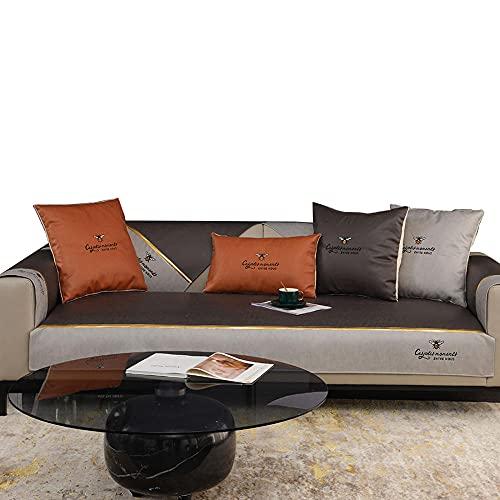 CC.Stars Möbelschutz-Möbelschutz, Sofa-Slipcover, Sofa-Haustierabdeckung für Sessel/Liebesat/Couch Sofa-Cover/Kissen Sofas/Chaise Lounge (angeboten von Teil)-schwarz_43 * 94in.