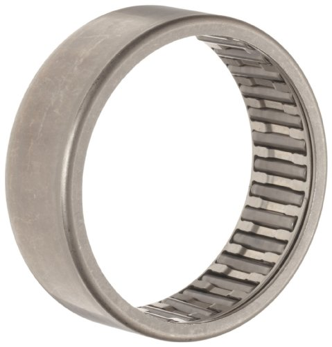 INA HK5520 Needle Roller Bearing, Caged Drawn Cup, Outer Ring and Roller, Steel Cage, Open End, Metric, 55mm ID, 63mm OD, 20mm Width, 4700rpm Maximum Rotational Speed