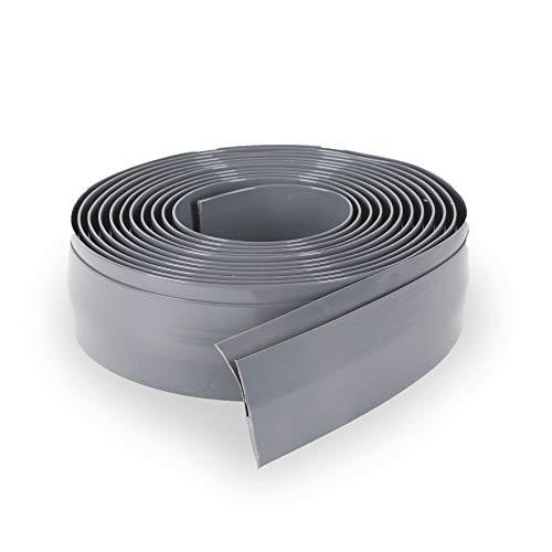 G-Floor Mat Edge Trim 25' in Slate Grey