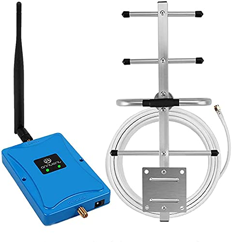 Anntlent Verstärker 4G LTE 800Mhz 2600Mhz Mobilfunk Verstärker Bande20 Bande7 Signalverstärker 4G Data Repeater T-Mobile,Vodafone,O2-Unterstützung Aller Telefonisten