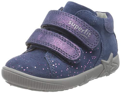 Superfit, Baby - Mädchen, Lauflernschuh, Sneaker, BLAU 8000, 23 EU