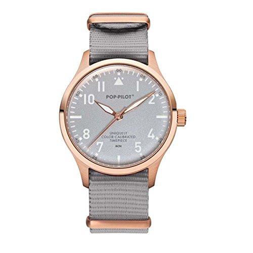 Pop Pilot Unisex Analog Quarz Smart Watch Armbanduhr mit Stoff Armband BCN