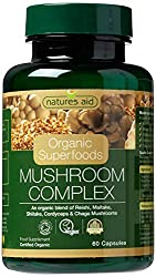 Combines five of the most interesting and widely researched mushrooms: Reishi, Maitake, Shiitake, Cordyceps & Chag Certified Organic by the Soil Association Take 2 capsules per day with a glass of water. Alternately, pull apart the capsules and sprin...
