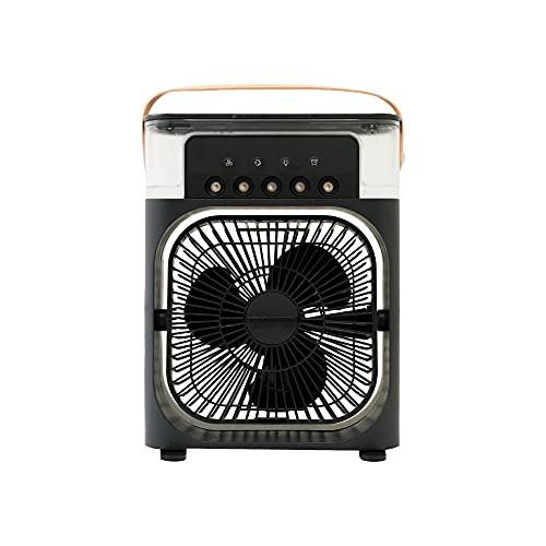 THANKO ほんとに涼しい冷風扇「ミストクーラーFIVE」C-MCF21W ブラック ミスト 扇風機