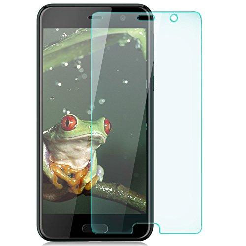 zanasta Bildschirmschutz Folie aus Gehärtetem Glas HTC U Play Bildschirmschutzfolie Panzerfolie Glasfolie Hartglas Schutzfolie | HD Klar Transparent