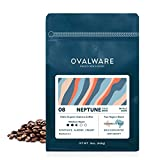 Ovalware 08 Neptune - Cold Brew, Organic Medium Roast Whole Coffee Bean, Colombia and Brazil Blend (08 Neptune, 1lb / 16oz)