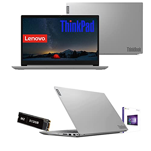 "Notebook Pc Lenovo Thinkbook Intel Core i3-10110u 4.1Ghz 10Gen. 15,6"" Full Hd, Ram 16Gb Ddr4, Ssd Nvme 512Gb M2, Hdmi,Usb 3.0,Wifi,Bluetooth, Webcam Hd,Windows 10Pro,Open Office"