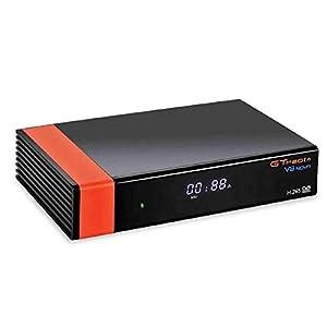 GT Media V8 Nova DVB-S2 Satélite Receptor de TV Digital Decodificador con Wi-Fi Incorporado / SCART / 1080P Full HD / FTA Soporte Youtube,CC CAM, Newcam, PVR Ready, PowerVu Dre Biss Clave