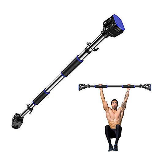 Dulcii Pull Up Bar, Doorway Hallway Chin Up Bar Upper Body Workout Bar for Home Gym Exercise Fitness,Hold up to 440 LBS (72-92cm/28.3''~36.2'')
