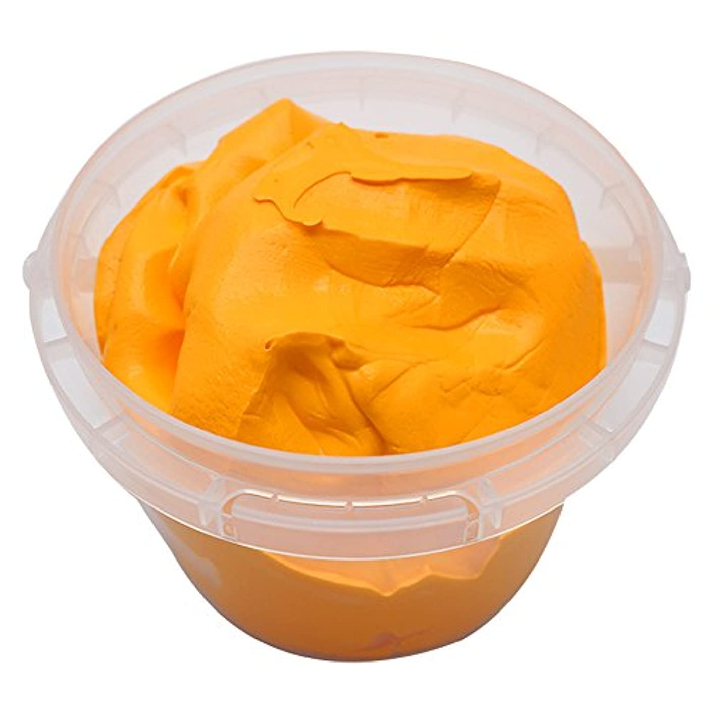 OVI Non Toxin Air Dry Creative Modeling Clay Bucket with Assorted Colors Ultra Light Molding Magic Clay Orange