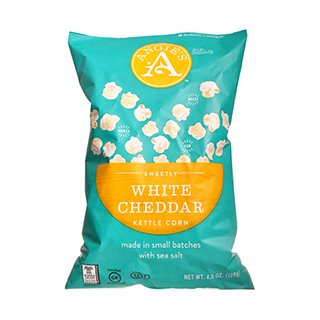 For Sale! Angie's Popcorn, White Cheddar 12x 4.5 OZ
