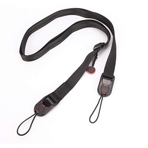 XYZMDJ Correa de hombro universal para cámara réflex digital, ajustable, multifuncional, correa para el cuello para cámaras deportivas digitales.