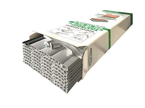 KIT TAPPARELLA IN PVC 6 KG AL MQ - L173xH160cm BIANCO 18