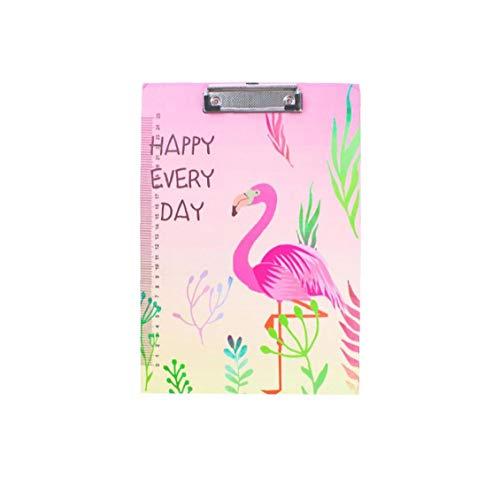 Flamingos Standard-holz-klemmbretter A4 Größe Ordner Platte Splint Voll Heavy Duty Hartfaser- Zwischenablage Set Mit Slim Low Profile