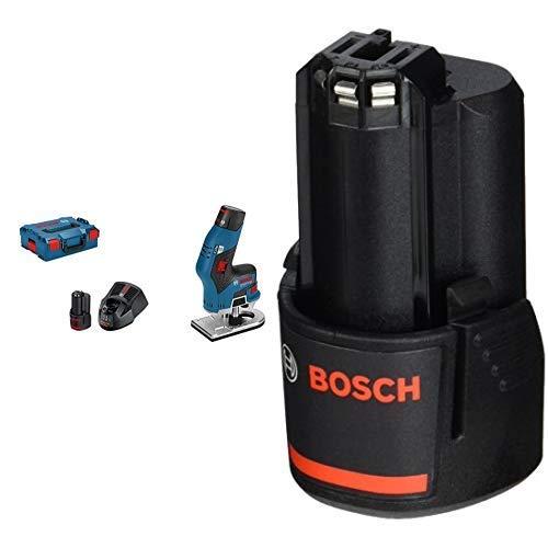 Bosch Professional - Fresadora de cantos + Bosch Professional - Batería de litio 2Ah