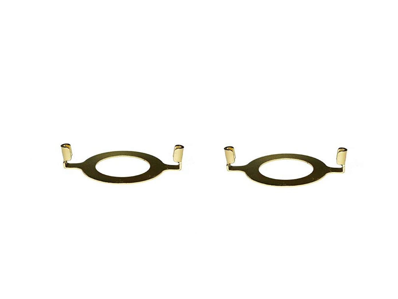 Upgradelights Pair of Slip Uno Adapter Harp Converter Lamp Shade Uno Euro Fitter 1 9/16 I.d.