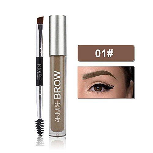 FOONEE Augenbrauen Gel Mascara, nachhaltige, Wasserdicht Augenbrauen-Gel, Doppelter...