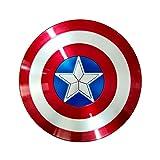 Getrichar Escudo del Capitán América, Material ABS, Disfraz de superhéroe, Accesorios de Cosplay, Accesorios de plástico para niños, edición de películas de Mano, Juego de Roles