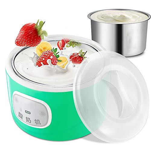 Great Features Of Yogurt Maker Frozen Yogurt Machine Yogurt Can Be Placed In Glass Jar, 1l Capacity ...