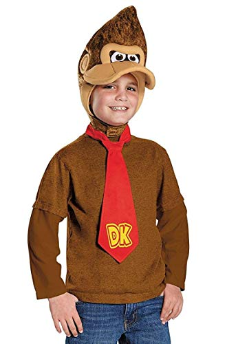 Disguise Donkey Kong Super Mario Bros. Nintendo Child Costume Kit