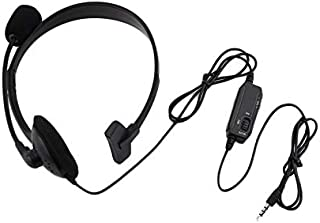 Kriogor Gaming Auriculares 3.5/mm de LED c/âbl/é Casco Ave micr/ófono//Control de Volumen para iPhone Playstation 4/PS4/Xbox One