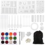 LIHAO 94pcs DIY Cristal Kit de Moules en...