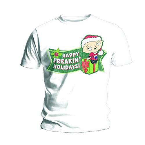 Bravado Herren T-Shirt, Gr. Small (Herstellergröße: Small), Weiß