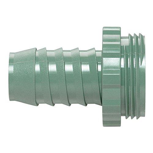 Orbit 57189 1-Inch Manifold Poly Adapter, Green