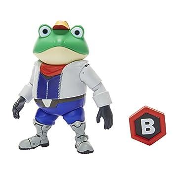 World of Nintendo Nintendo Slippy Toad Action Figure 4