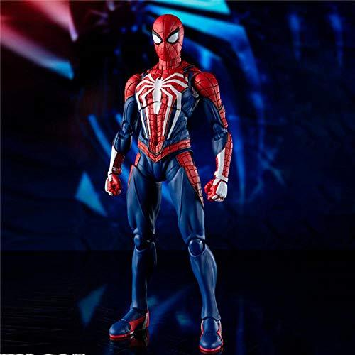 Marvel Legends Hero Spider-Man Figura De Acción Muñeca Juguetes Modelo Vengadores Las Articulaciones Pueden Girar Juguetes Para Niños Figura De Personas Y Anime Figma-Hombre Araña A,Estatua Anime