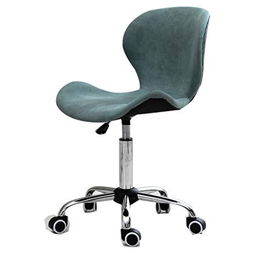 Bureaudraaistoel vintage design stoel retro stijl keuken eetkamer bureaustoel ligstoel met rugleuning B