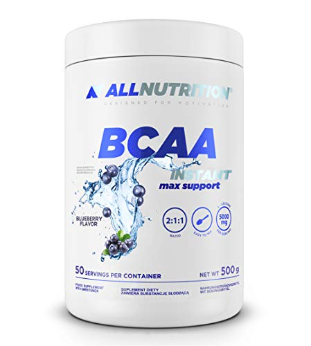Allnutrition BCAA Max Support Instant, Blueberry, 500g